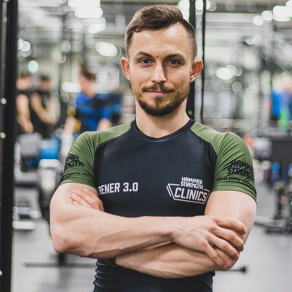 Dawid Rauk - dietetyk, trener personalny